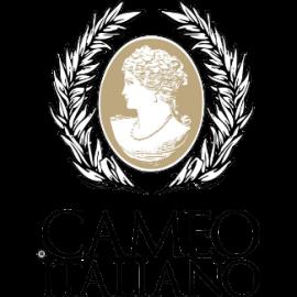 Collana donna Cameo Italiano con pendente Cameo inciso a mano PPR3-R